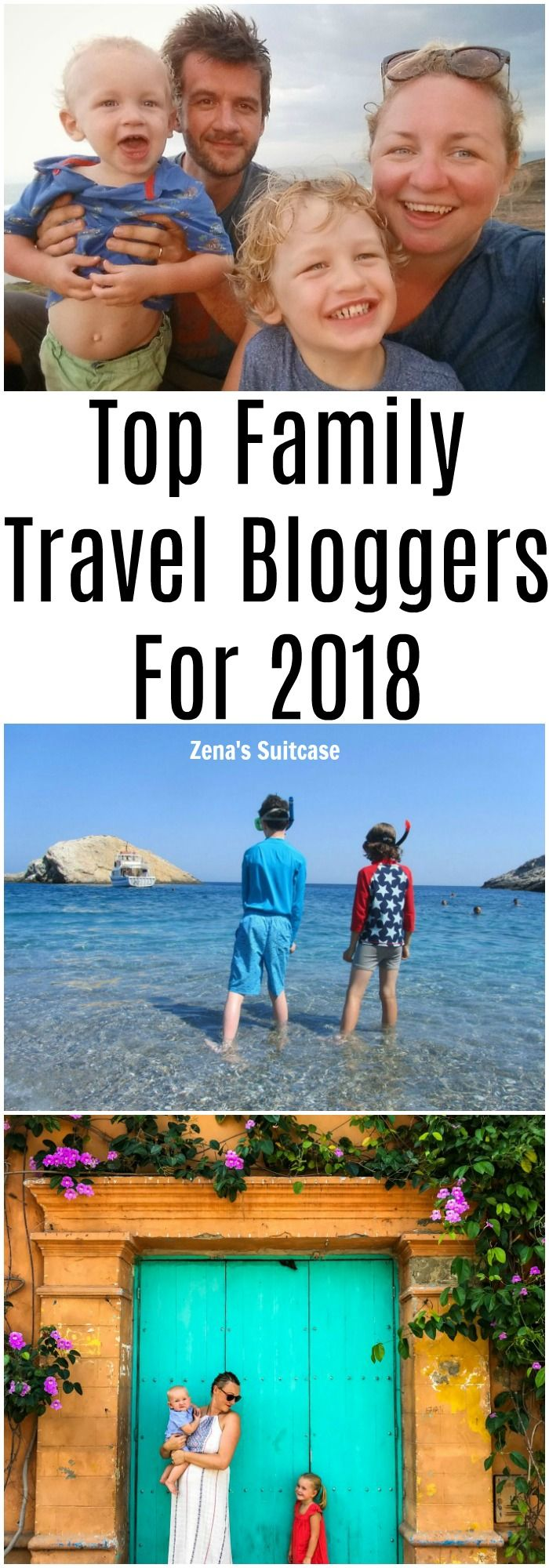 Top Family Travel Bloggers To Follow in 2018