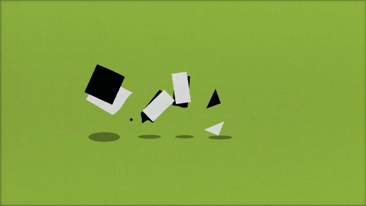 Bouncing shapes on Vimeo