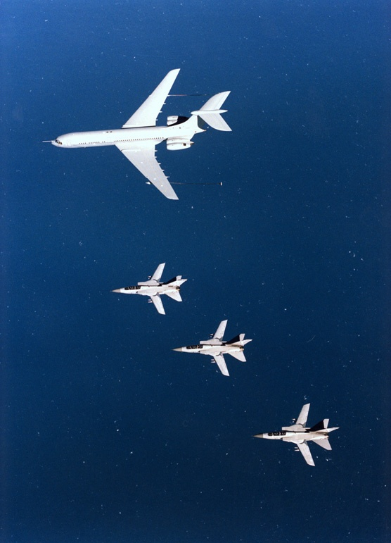 VC10 with Tornados