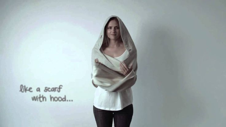 HOW TO WEAR MNISHKHA - video/instrukcja dla klientek jak nosić Mnishkhę (kapturoszal).