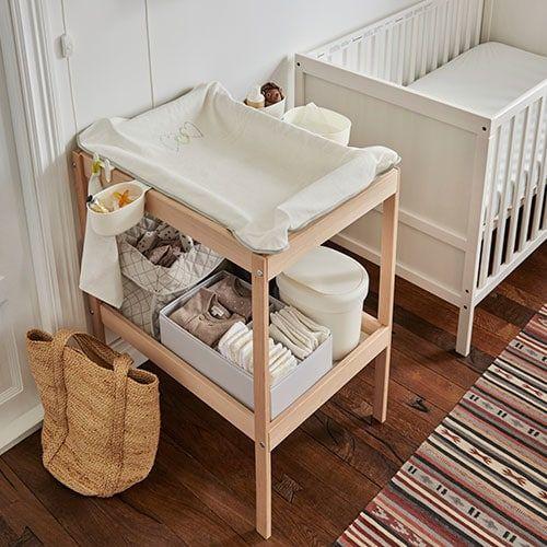 wickeltisch sniglar buche wei ikea ideen pinterest wickeltisch kinderzimmer und. Black Bedroom Furniture Sets. Home Design Ideas