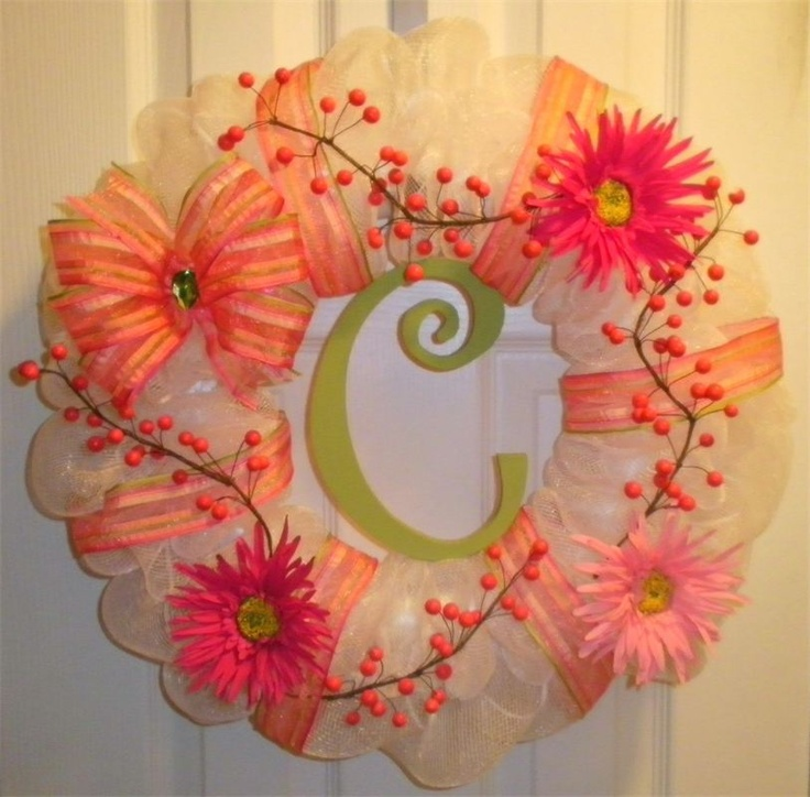 Beautiful Spring Time Wreath Holiday Decor Cuz I 39 M