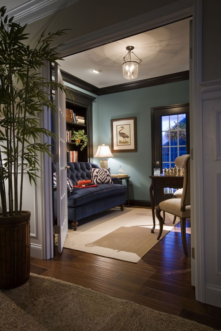 43 best curb appeal images on pinterest curb appeal model homes a study with built in bookshelves that makes you want to curl up with a