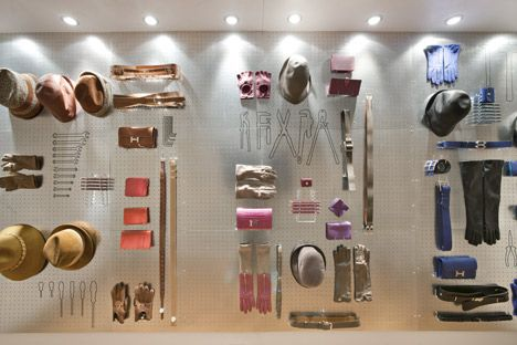 CuldeSac for Hermes. Clever use of peg board. These are tools every man should have!