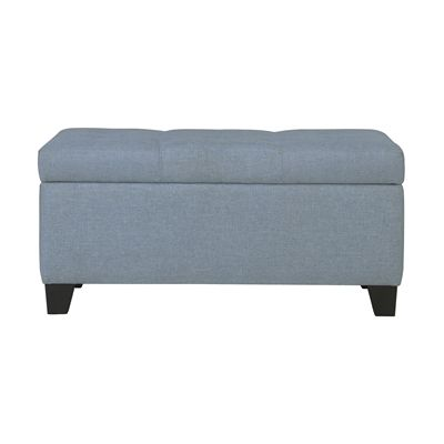 Worldwide Home Furnishings 402-228 WHi Sarah Storage Ottoman