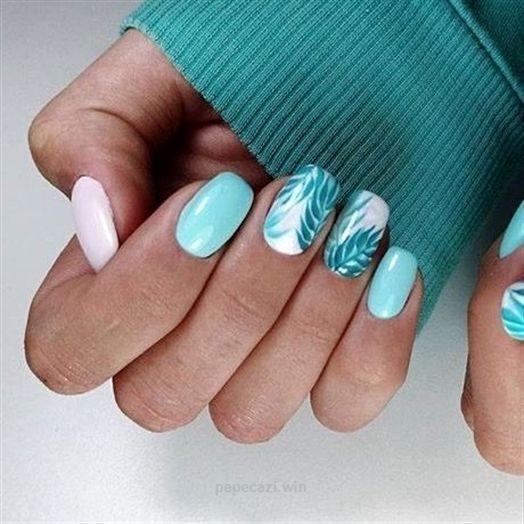 Summer Nails Nails Verano Nail Colors Beach Color Nails Bright Nail Art Ideas Cute Nail Designs Art Beach B In 2020 Bright Nail Art Bright Nails Short Nails Art