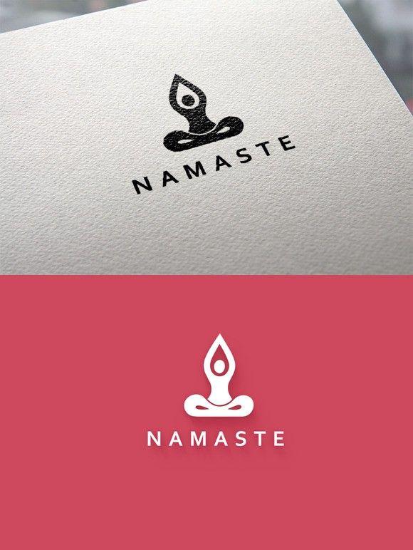 Yoga logo. Logo Templates. $15.00