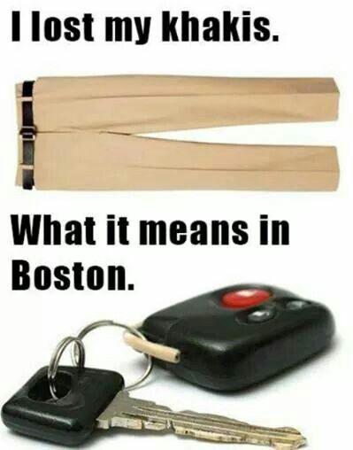 Hahaha I love the Boston accent for some reason