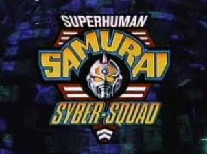 The Superhuman Samurai Syber-Squad Title Screen.