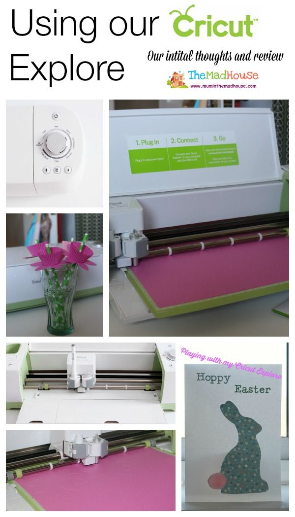 My two weeks with the Cricut Explore – An interim review and thoughts