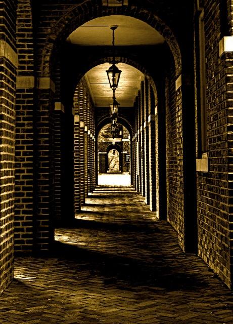 Walkway in front of Benedict, Sweet Briar College!  Had my senior photos taken here!  :)
