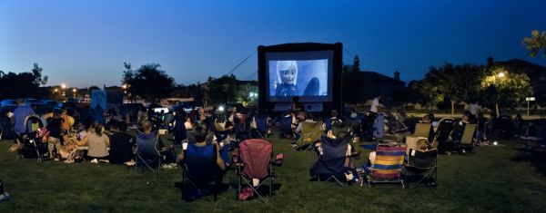 Roseville, CA free movies in the park, 2016