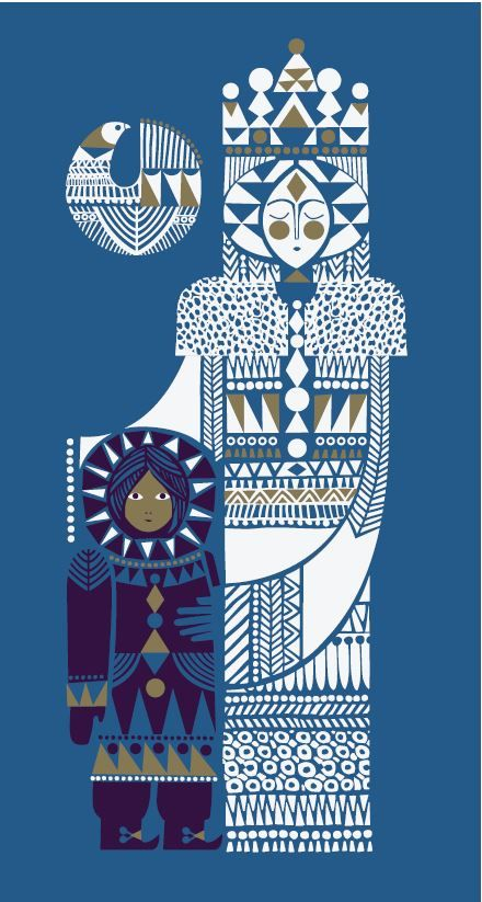 "penguindesign: "" Copyright Sanna Annukka Artist, printmaker, and textile designer Sanna Annukka discusses her beautiful reworking of the Hans Christian Andersen classic The Snow Queen, with stunning..."