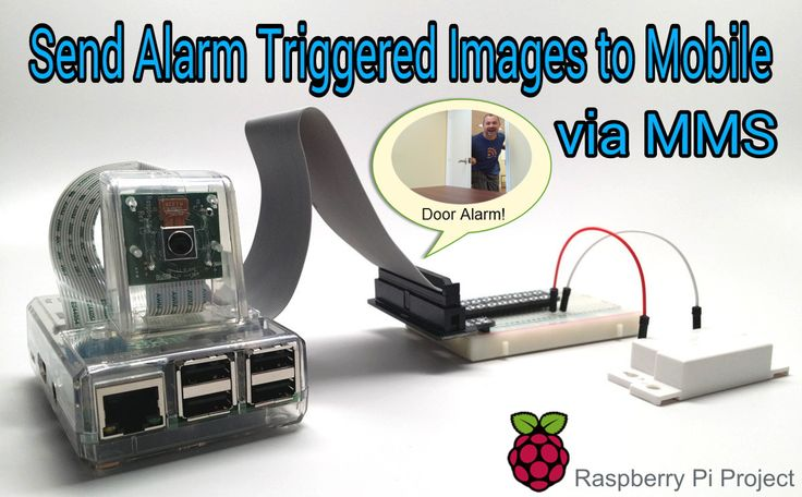 Send Security Camera Photos from Raspberry Pi via MMS Text Message