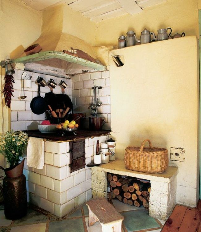 Cottage Kitchen Flooring Continued: 17 Best Images About CLAY/STONE/COB/ROCKET/STOVES/LORENA STOVES On Pinterest