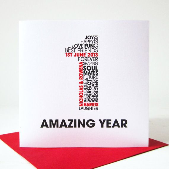 Best 25+ 1st anniversary cards ideas on Pinterest 1st wedding - anniversary card template