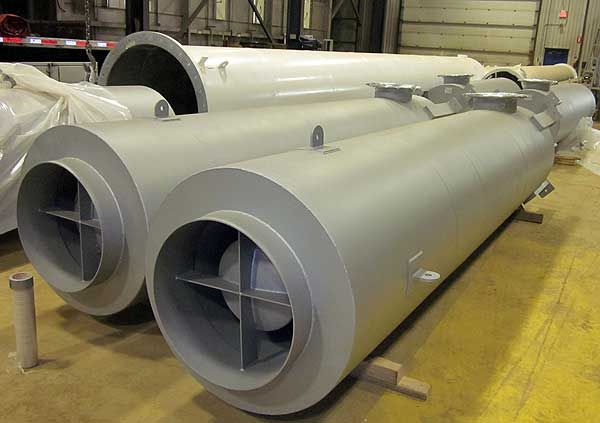 Natural Gas Compressor Exhaust Mufflers - dB Noise Reduction