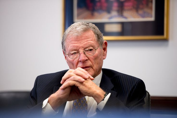 I HEREBY NOMINATE SENATOR JIM INHOFE AS THE STUPIDEST FUCKING PERSON IN CONGRESS. Sarah Palin, thank you for your time. You've been wonderfully idiotic but someone has taken your seat. Sen. Inhofe is the CHAIRMAN of the Environment and Public Works Committee. And yet, in case you missed it, he LITERALLY brought a snowball into Congress as his proof that climate change is fake. HOLY FUCKING SHIT. This doucebag is dumber than a bag of hair. How does he even tie his shoes???