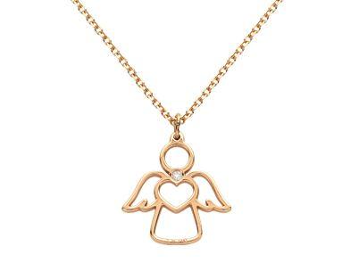Cadena y colgante oro 18 Ktes con #diamantes #JoséLuisJoyeroBasic