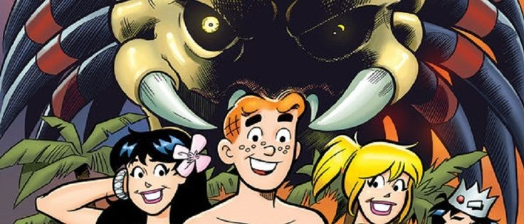 Coming April 15th: Archie vs Predator #1 - http://voiceofe.com/2015/03/coming-april-15th-archie-vs-predator-1.html