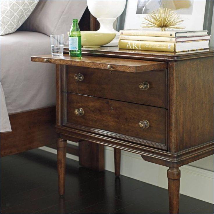 Stanley Furniture Classic Portfolio Vintage Night Stand In Heirloom Cherry      Lowest Price Online On All Stanley Furniture Classic Portfolio Vintage  Night ...