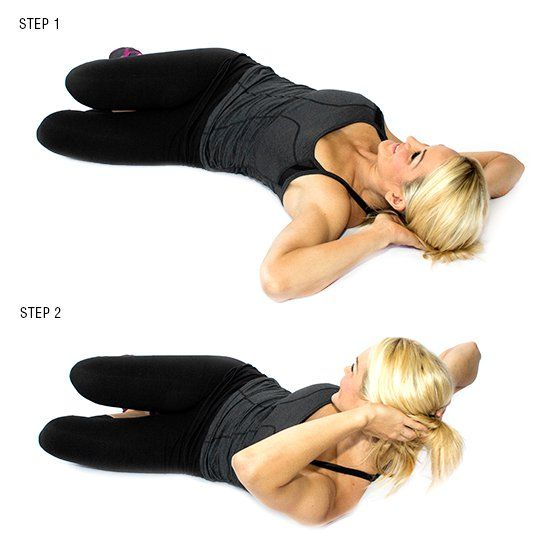 Oblique Crunches (each Side)