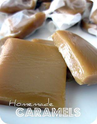 Homemade Caramels #Recipe #Dessert