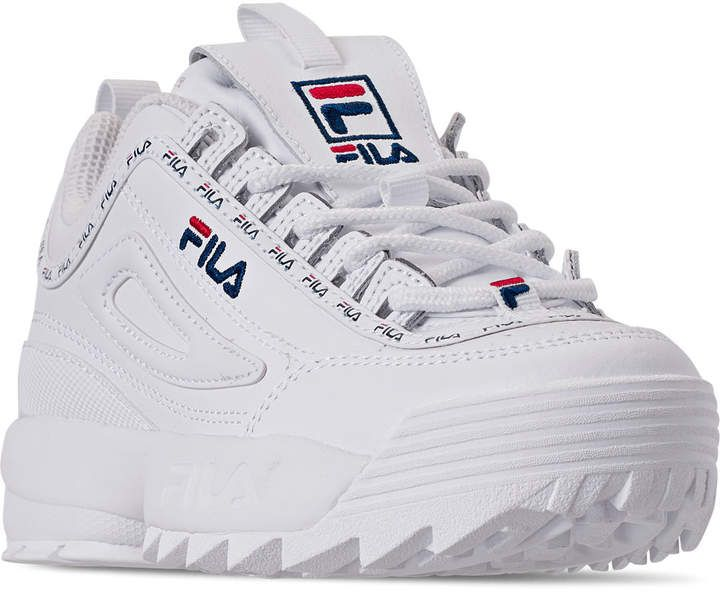Fila Boys' Little Kids' Disruptor 2 Repeat Flag Casual Shoes