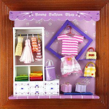 roupas jovens 13625 loja casa de bonecas mobiliário mini brinquedos