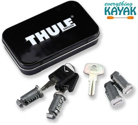 Thule Keyed Alike Locks - 4 Pack
