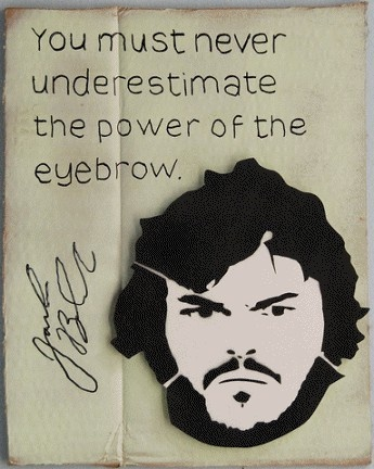 .: Eyebrow Power, Eyebrow Quote, Celebrity Quotes, Jackblack, Jack O'Connell, Funny Stuff, Eyebrows, Jack Black