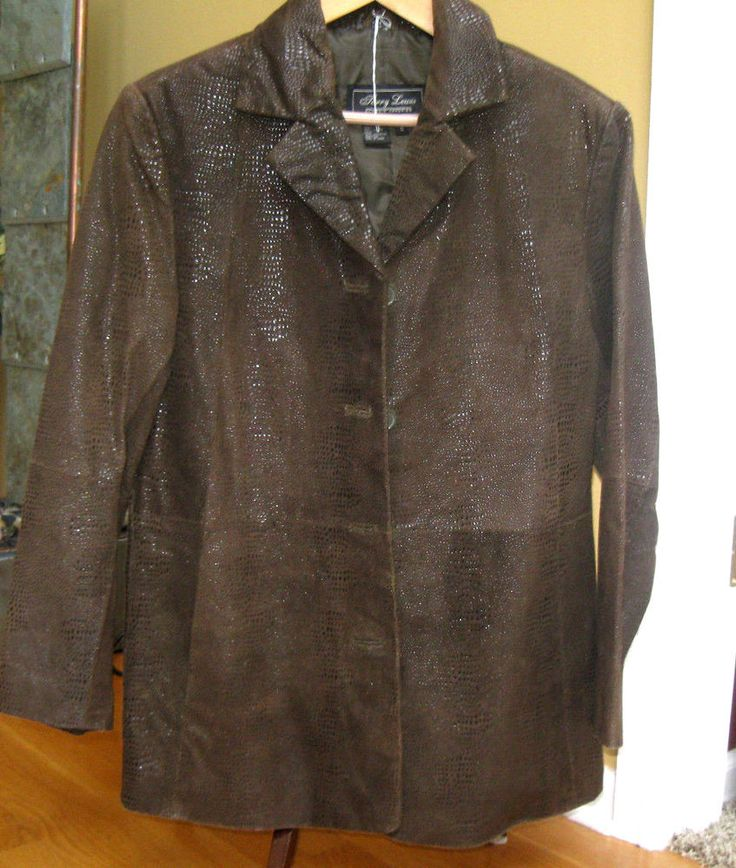 Terry lewis leather jacket