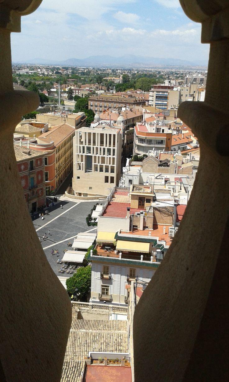 Vistas desde la Torre de la Catedral de Murcia (La 2ª más alta de España).