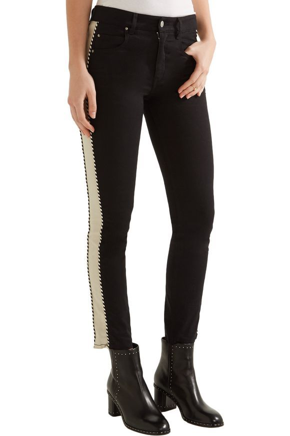 8cffdbaacad Haven striped mid-rise straight-leg jeans | ISABEL MARANT ÉTOILE | Sale up  to 70% off | THE OUTNET