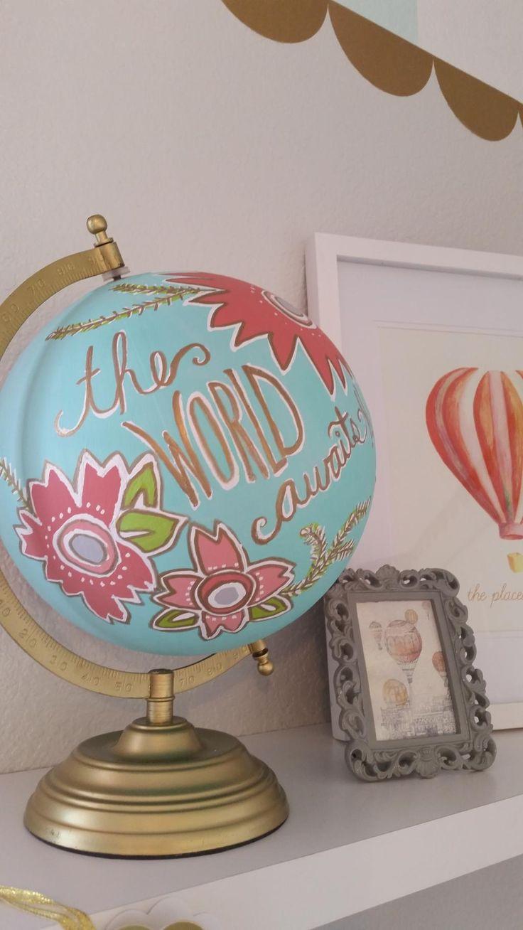 Simply KellyB: A Whimsical, Wanderlust Nursery on Studio 5!