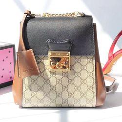 082d26b74e9 Gucci Padlock GG Supreme Backpack 498194