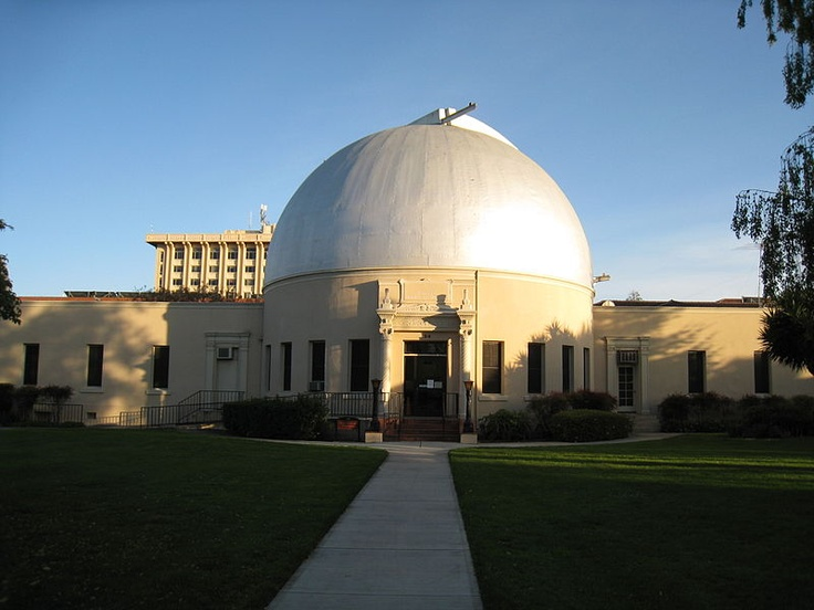 The dome of the observatory at Santa Clara University gleams in the late afternoon sun. http://www.payscale.com/research/US/School=Santa_Clara_University/Salary
