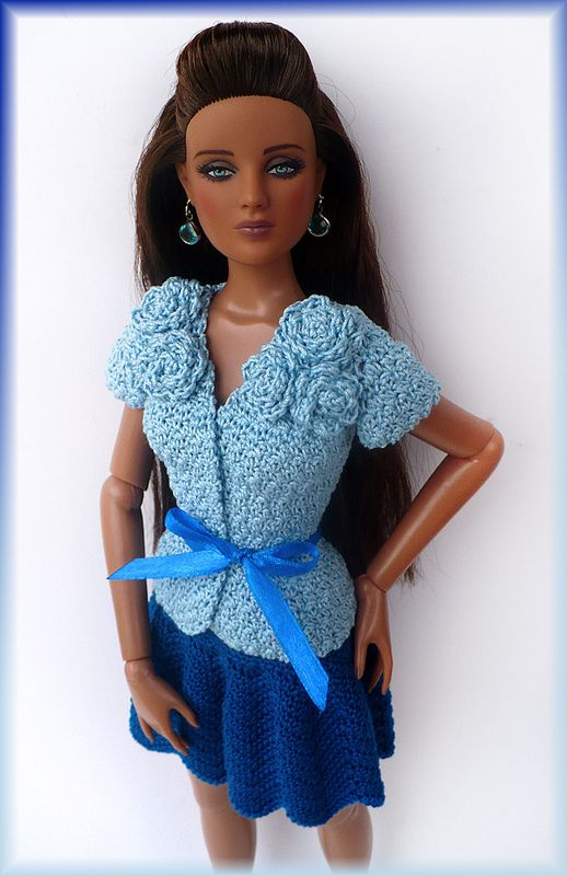 88 best images about crochet for tonner dolls on Pinterest ...