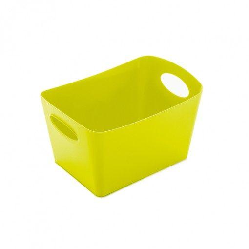 Sono le piccole cose nella vita che creano più caos. Il contenitore Boxxx S di Koziol offre una soluzione organizzativa elegante e incredibilmente pratica. Prendiamo, per esempio, tutti i blocchi di costruzione sparsi nella camera dei bambini. O gli accessori da ufficio e le forbici. Oppure i cosmetici che ingombrano il bagno. Grazie alle sue...