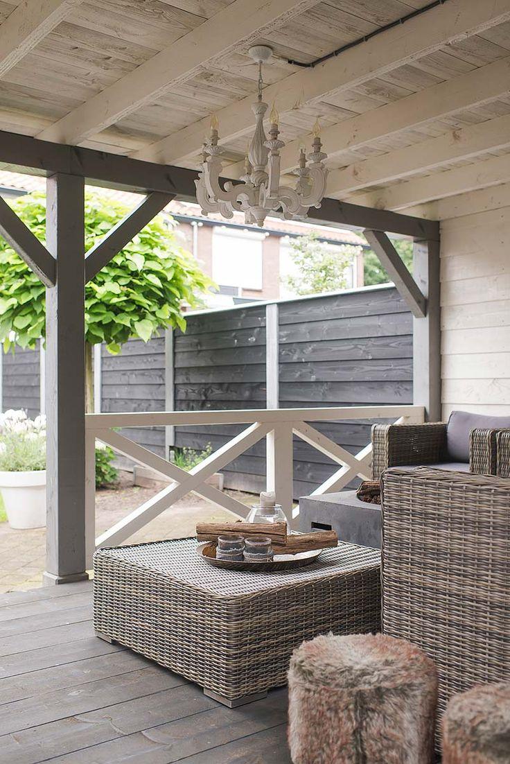 25 beste idee n over overdekte terrassen op pinterest overdekte terrassen patio en decks - Overdekte patio pergola ...