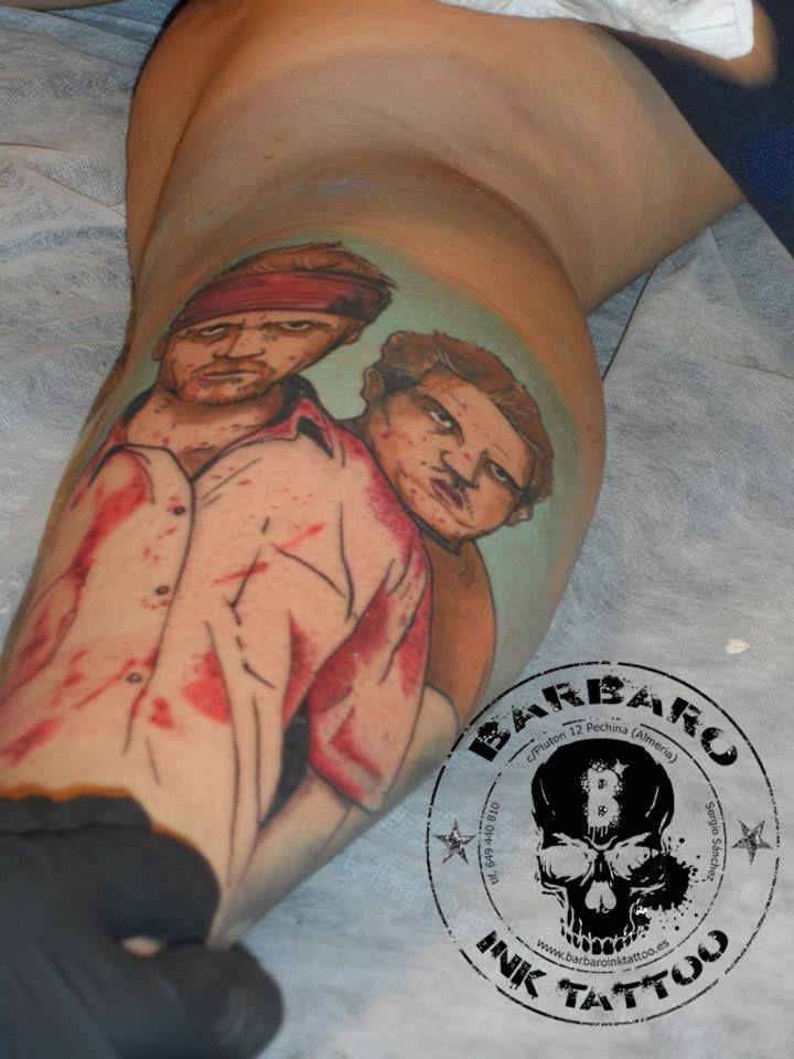 #tattoo #tattooist #tattoolife #tattooartist #tattoofreakz #tattoolifemag #tattooistartmag #tattooed_body_art #tattooistartmagazine #thebesttattooartists #thebestpaintattooartists #inkedmag #inkfreakz #crazytattoos #bloodygirls #tattooalmeria #tattooed #tattooedgirls #terrortattoo #thewalkingdead #colortattoos
