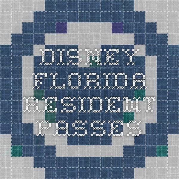 Disney Florida Resident Passes