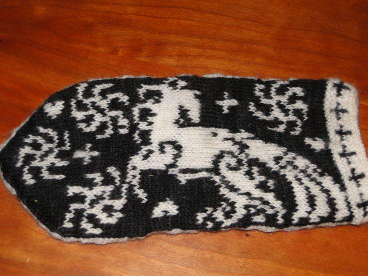 Bilderesultat for horse knitting pattern