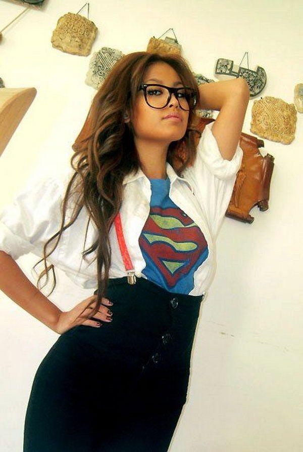 Superman Clark Kent Kostüm selber machen | Kostüm Idee zu Karneval, Halloween & Fasching