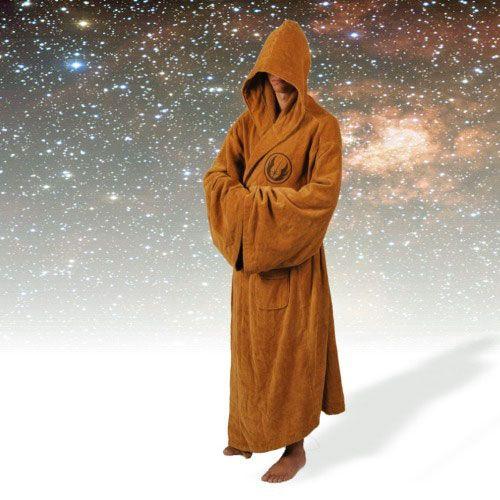 Jedi Badjas - Volwassenen  Jedi Bathrobe: Heb jij altijd al gedroomd om een dagje in de wereld van StarWars te zitten? Dit is je kans! Met de Jedi Bathrobe is dit slechts een badjas van je verwijderd.  EUR 59.95  Meer informatie  http://ift.tt/2eqHeTp #gadgets