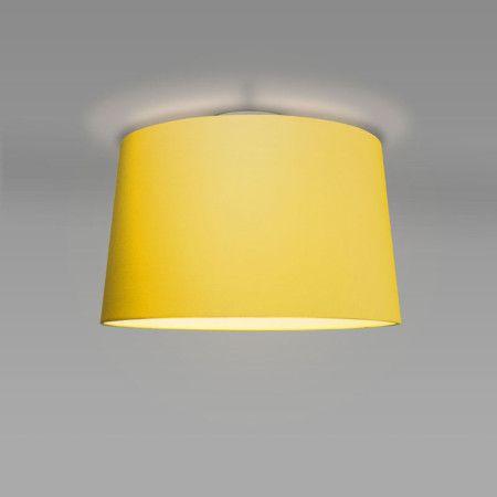 Plafon Ton 50 okrągły żółty