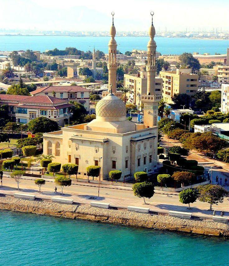 Mosque in Suez