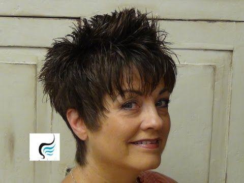 Come tagliare tagli di capelli corti per le donne | Tagli di capelli corti - YouTube