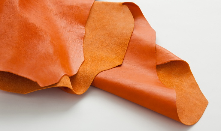 Il Bisonte - Orange-coloured cowhide leather