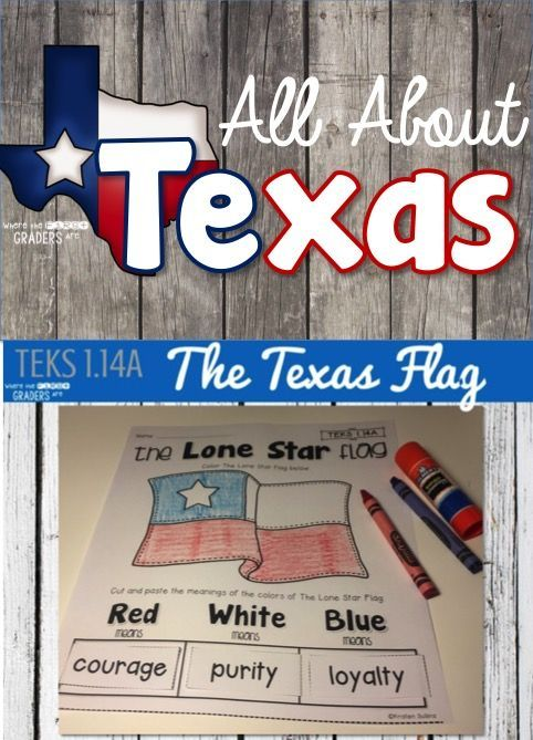 Teach young learners everything they need to know about the great state of Texas including the meaning behind our state flag: The Lone Star Flag. Be sure to grab the Texas Pledge FREEBIE in this great blog post!